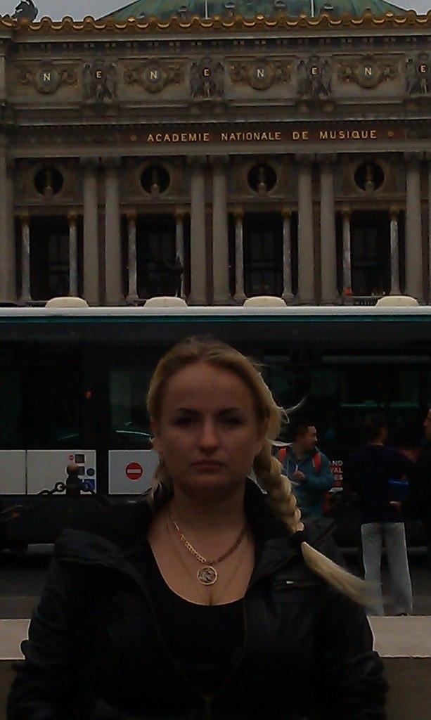 Елена Руденко. Франция. Париж. 2013 г. июнь. TKtfeb71Iak