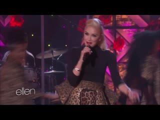 Gwen Stefani – «Make Me Like You» – (Live on The Ellen Degeneres Show # 2016)