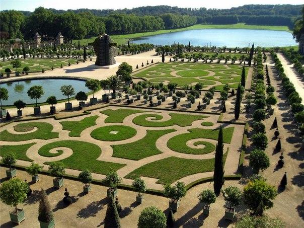 Сады и парки являются