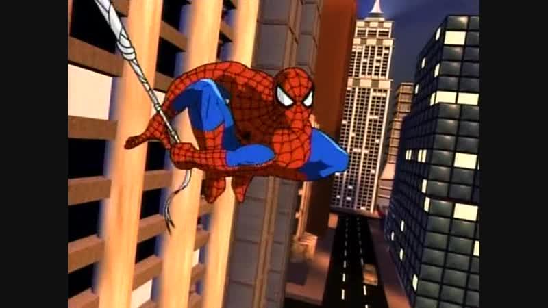 человек паук 1 сезон 2 серия охотники за пауком