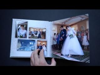 Свадебный альбом 20×20 в матовой ламинации