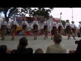 Молдавский танец ! Народный Ансамбль Кадриль , г . Тирасполь ! День Респуслики 2013 год !
