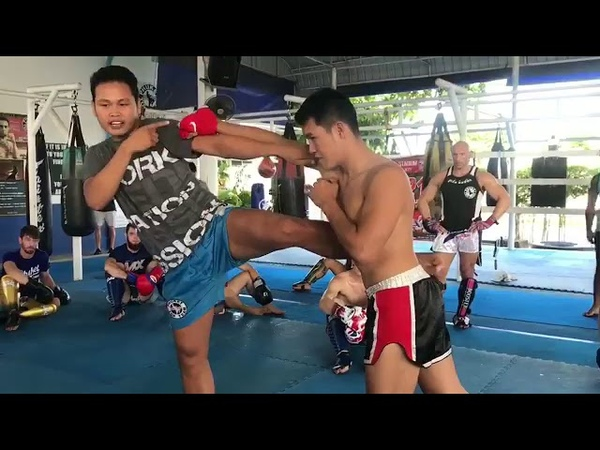 MuayThai drill/technique from Nampon PhuketTopTeam