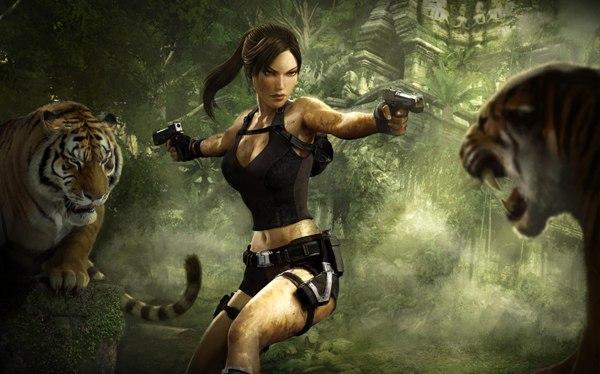 Обнаженые героини игр