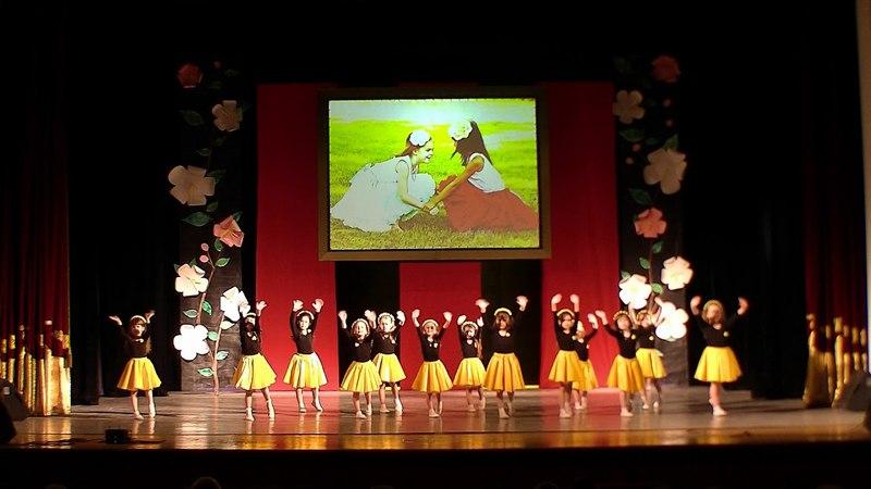 Хорошие девчата отчётный концерт Молодая гвардия группа Карамельки май 2018