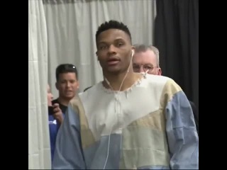 Chuck doesn't know what Russ is wearing...