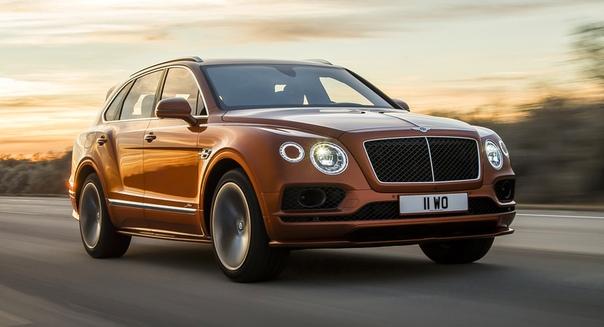 entley Bentayga Speed: новый рекордсмен среди кроссоверов Фото: компания BentleyСемейство кроссоверов Bentley Bentayga уже включает четыре модификации: с бензиновыми моторами V8 и W12, дизелем и