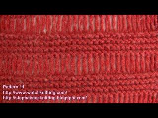 (Cage) - Simple Knitting Patterns - Free Knitting Tutorials - Watch Knitting - pattern 11