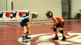 10 year old Utah girl wrestling at the 2013 Vegas Open youth tournament