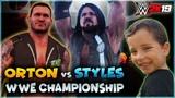 WWE 2K19 Randy Orton Vs AJ Styles (WWE Championship Match)