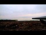 Стрельба трассирующими пулями из гладкостволки.
