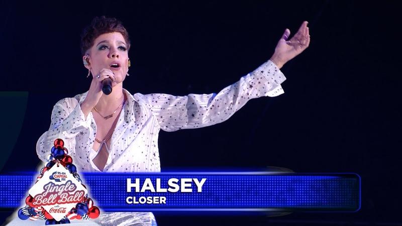 Halsey 'Closer' Live at Capital's Jingle Bell Ball 2018