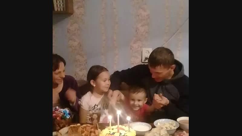 день рождения Руслана 3 года