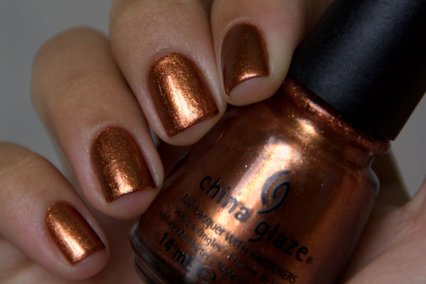 China Glaze Harvest Moon nail polish