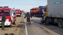 Момент смертельного ДТП на трассе под Волгоградом попал на видео