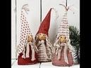 Новогодние гномики хендмейд New Year's dwarfs handmade