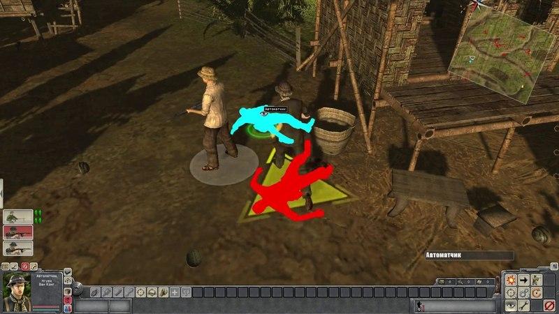 Вырезка из прохождения игры Men of War Vietnam by Vetik Aneniolt