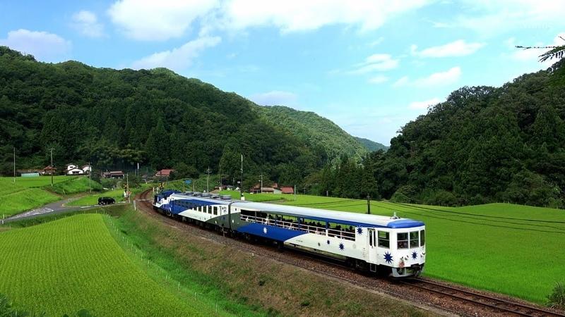 トロッコ列車『奥出雲おろち号』の夏休み 12 Aug 2018
