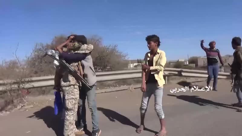Население района Бейт Язиди встречает хуситов