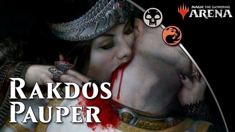 Magic Arena 20 ** Rakdos Pauper **