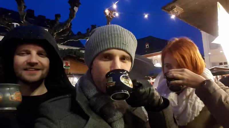 Рождественская ярмарка в Рюдисхайме. Мемориез 2018