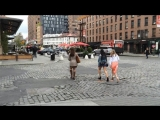 Various Ladies Walking With Heels On Uneven Roads