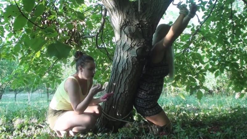 Feet Tickling on the Tree [HD]