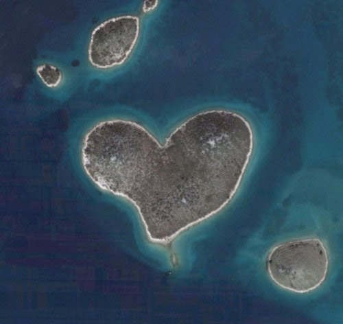 Картинки сердце в природе