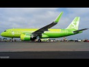 Airbus A320neo VQ-BCF S7 - Siberia Airlines 9 августа 2017 г.