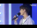 181013 EXO Lay Yixing - Give Me A Chance @ Milka Fanmeeting