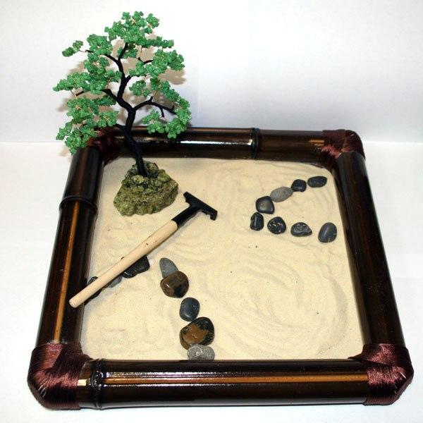 Сад камней дзен как сделать