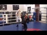 Тренировка Дмитрия Чудинова