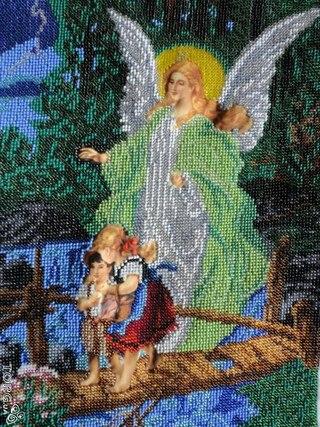 Ангел Охоронець дітей - 30х40,