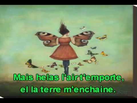 Le papillon et la fleur. De Gabriel Fauré