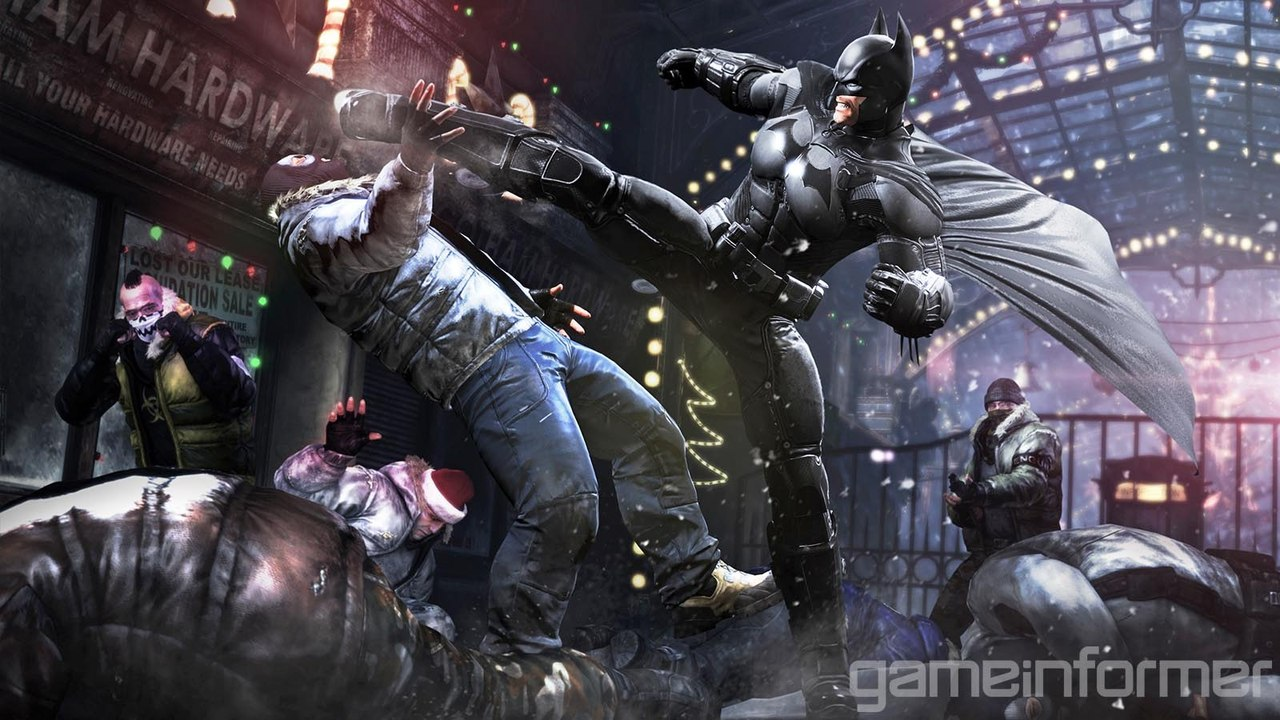 Cкриншоты Batman: Arkham Origins