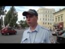 Гаишник окаменел при виде граждан с камерами
