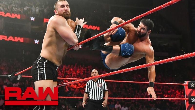 Bobby Roode vs Mojo Rawley Raw Aug 6 2018