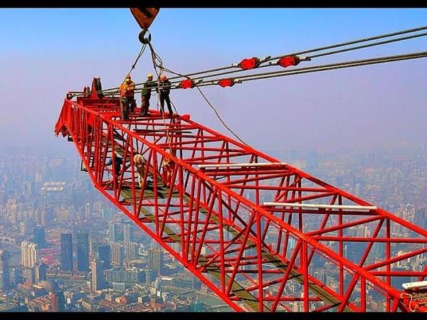 Как строили самый высокий небоскреб Китая - Шанхайскую Башню
