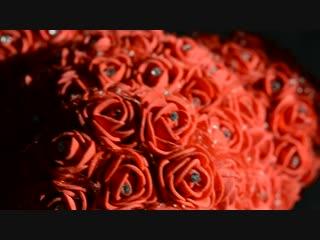 Мишка из роз Магнитогорск