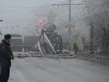 Волгоград: Второй за сутки взрыв в городе. На этот раз в троллейбусе