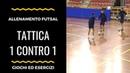 Allenamento Futsal: Esercizi 1 contro 1 (prime progressioni)