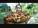 Yummy Rice Crab Feroniella Lucida Cooking Recipe Yummy Eating Rice Crab Cooking With Sros