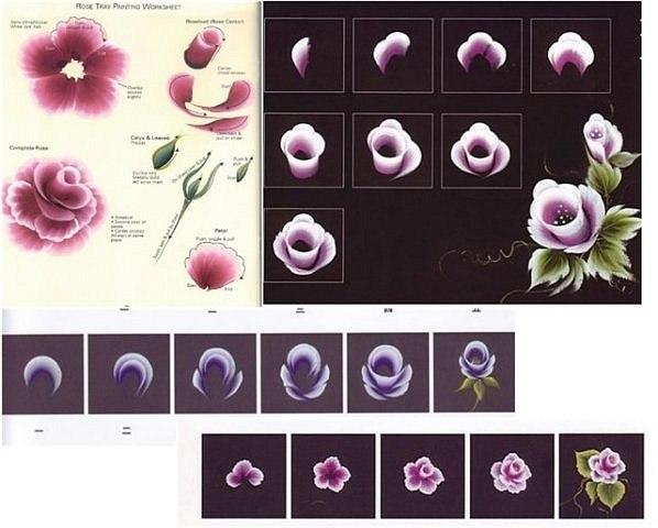 Пошаговая инструкция (Роза)