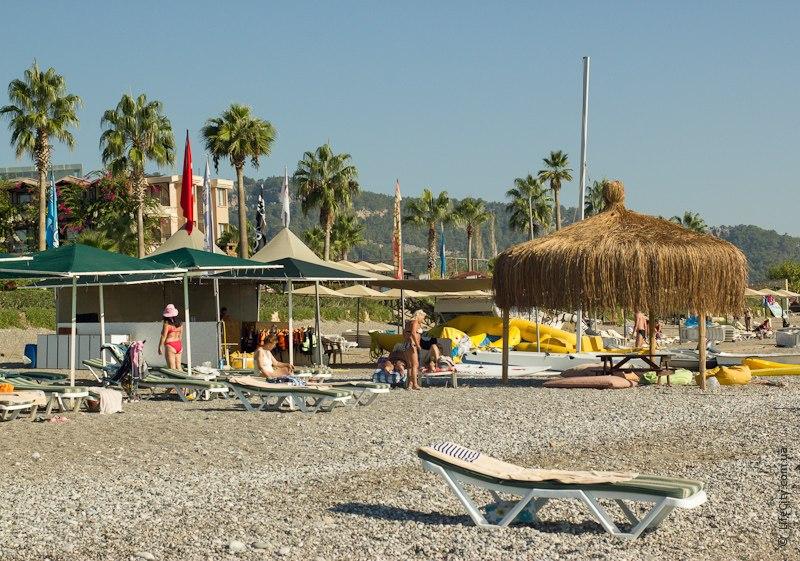 Пляж Loceanica отель Турция Чамьюва