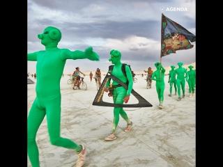 Безумный фестиваль burning man