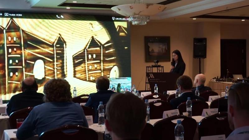 Конференция Yealink, организованная при содействии туркомпании Элит-тур Российско-Китайского бизнес-парка