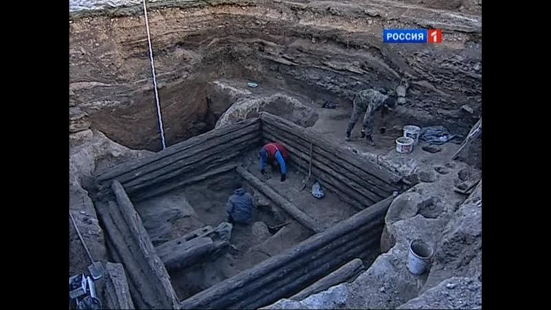 Малоизвестная Кострома раскопки в Мелочных рядах