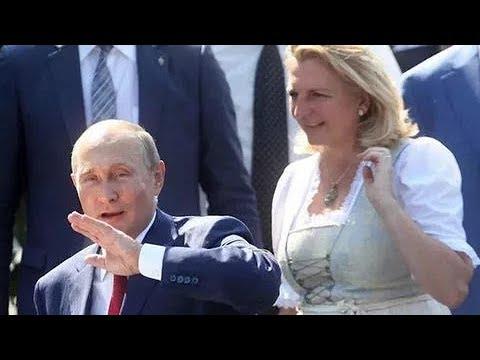 Гости в шоке.. Путин прилетел в Грац на свадьбу главы МИД Австрии...