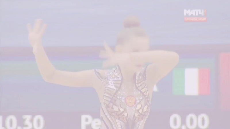 Dina Averina | World Challenge Cup Kazan 2018 | Play with fire » Freewka.com - Смотреть онлайн в хорощем качестве