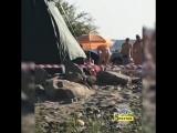 Нудисты на пляже в Селиванихе